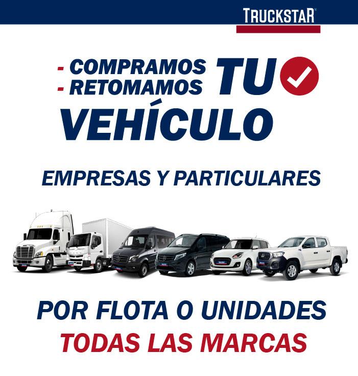 En Truckstar compramos y retomamos tu vehículo